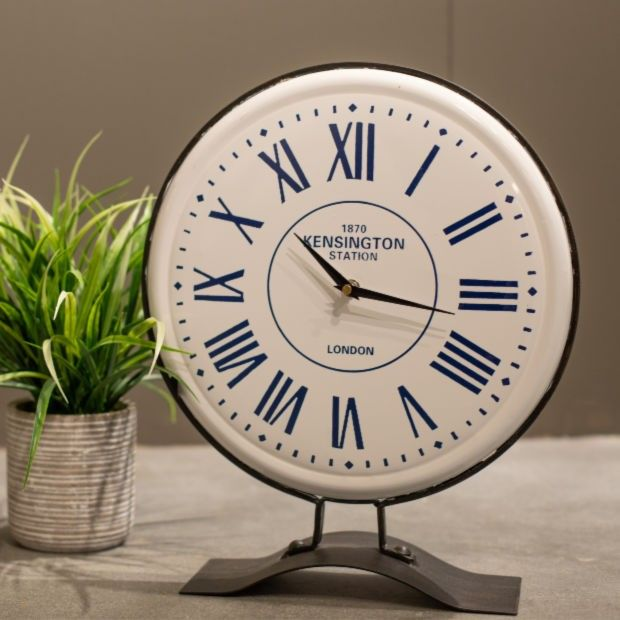 Train Station Table Clock #clock #tableclock
