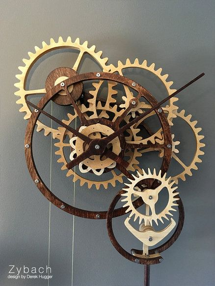 Zybach: a mechanical clock