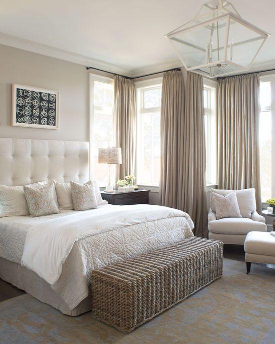 beautiful, serene beach bedroom