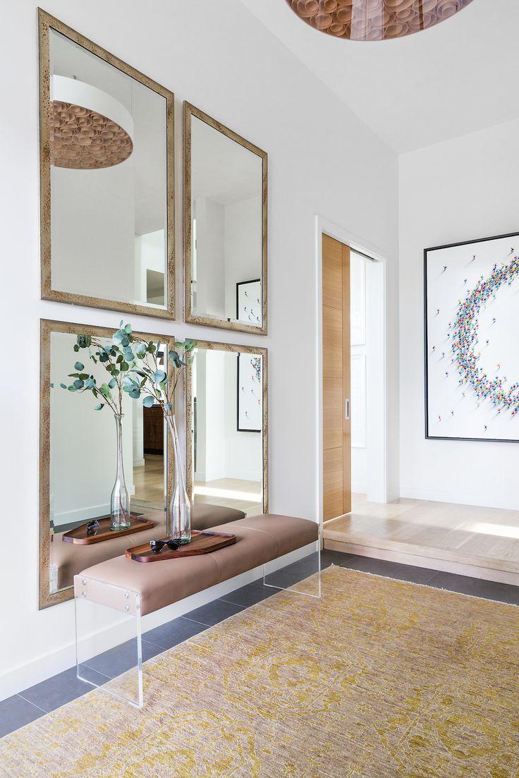Front Entrance, Elbow Park Modern, Calgary Interior Designer, Nyla Free Designs,...