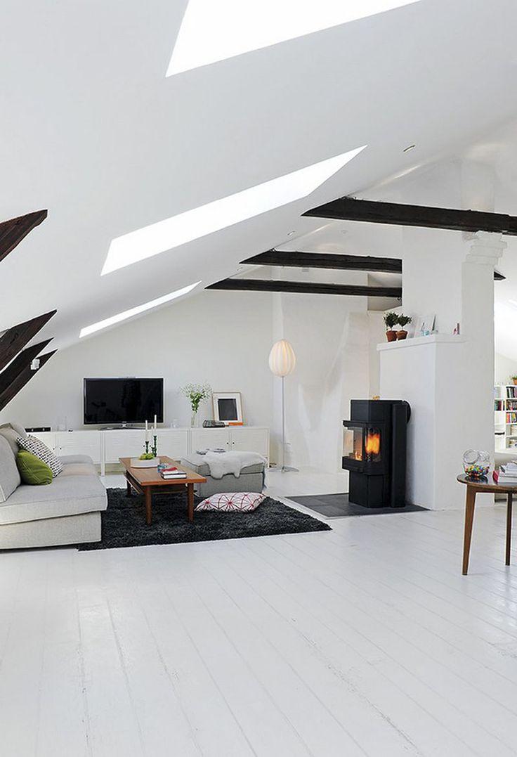 Furniture - Living Room : Scandinavian Duplex Apartment ...