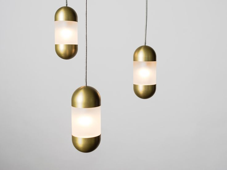 #DailyProductPick OLO Led Pendant by Karice Lighting, suspended from co-axial ca...