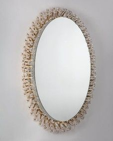 Oval Schoninger mirror