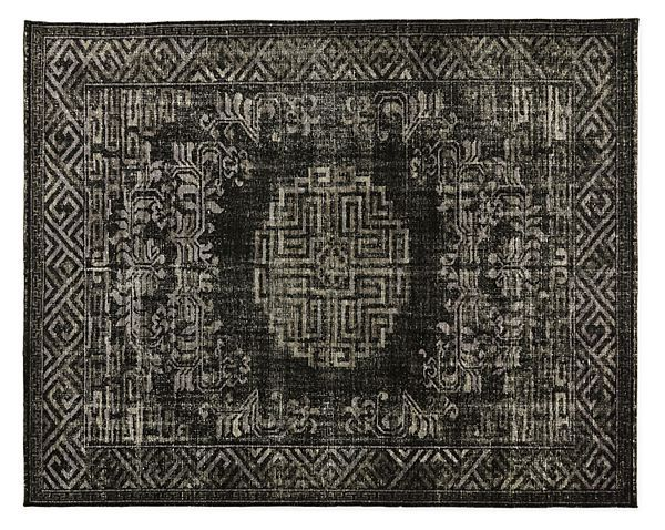 Amira Hand-knotted Wool Rug - Modern Rugs - Modern Dining Room & Kitchen Furnitu...