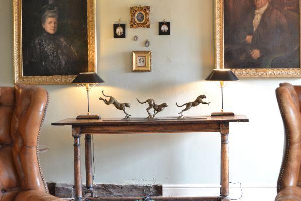 #Bronze #sculpture by #sculptor Edward Waites titled: 'Cheetah Trio (Small Bronz...
