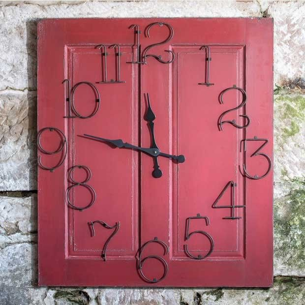 Wall Panel Clock #clock #wallclock