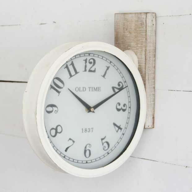 Wall Sconce Clock #clock #wallclock