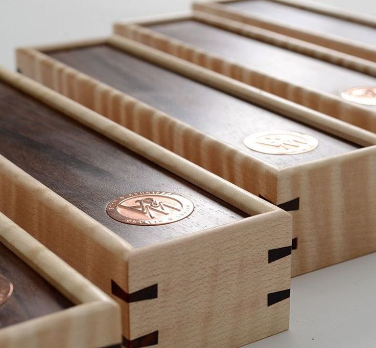 """""""I just found this image of the domino boxes made by our junior maker Angus Mu..."""