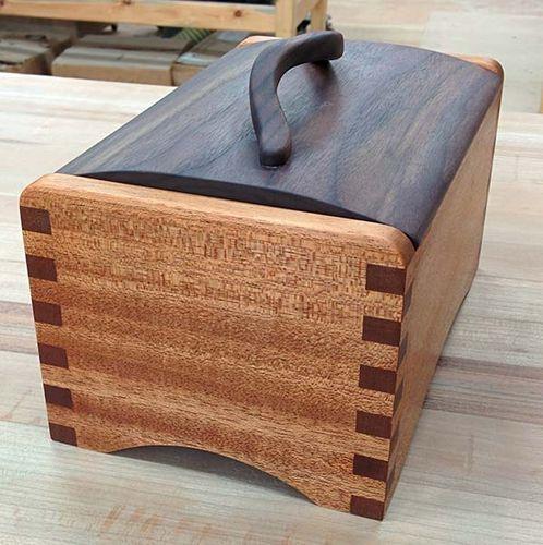 African Mahogany and Walnut Box - Box Swap 2014
