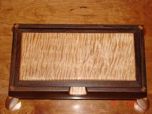 Custom Made Men's Jewelry Box