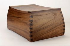 Handmade wooden boxes and custom made cremation urns