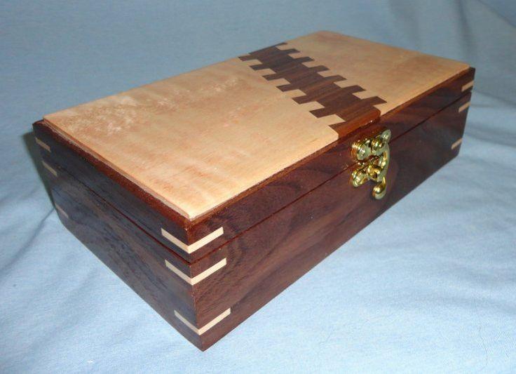 Laura's Box - Walnut and figured maple