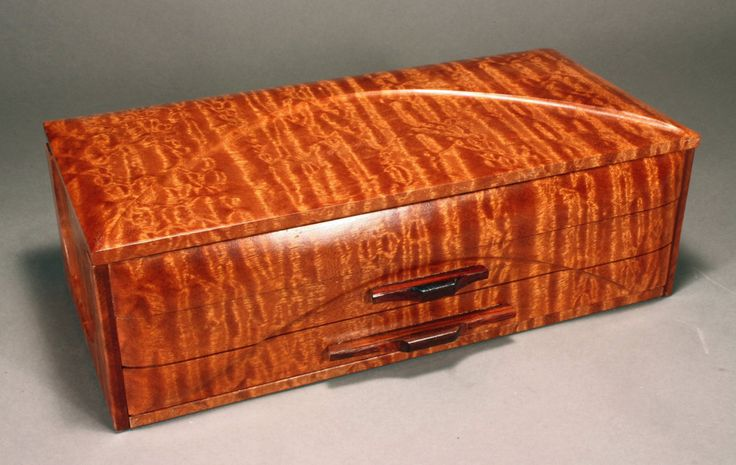 The wood, pommelle Sapele from western Africa is one of the most prized woods in...