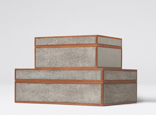 shagreen boxes