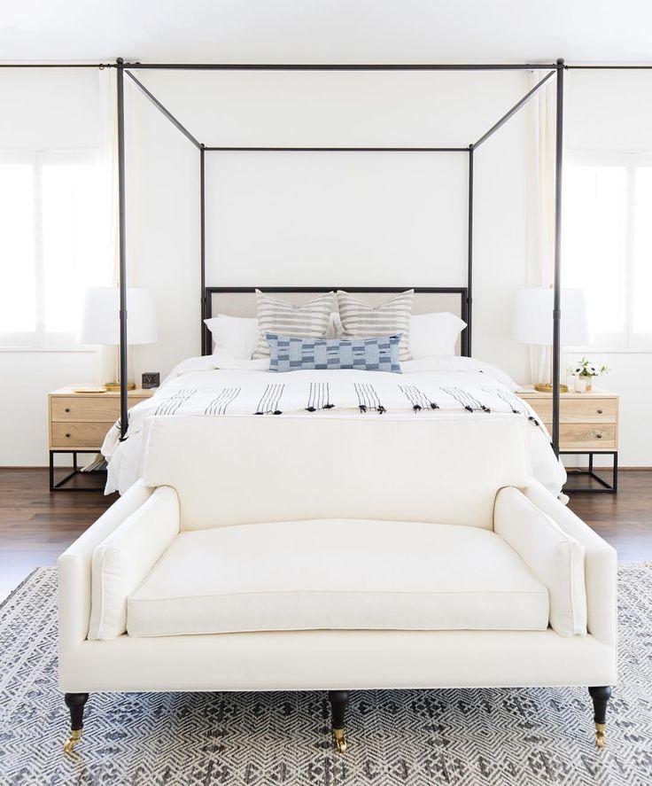 Boho farmhouse bedroom