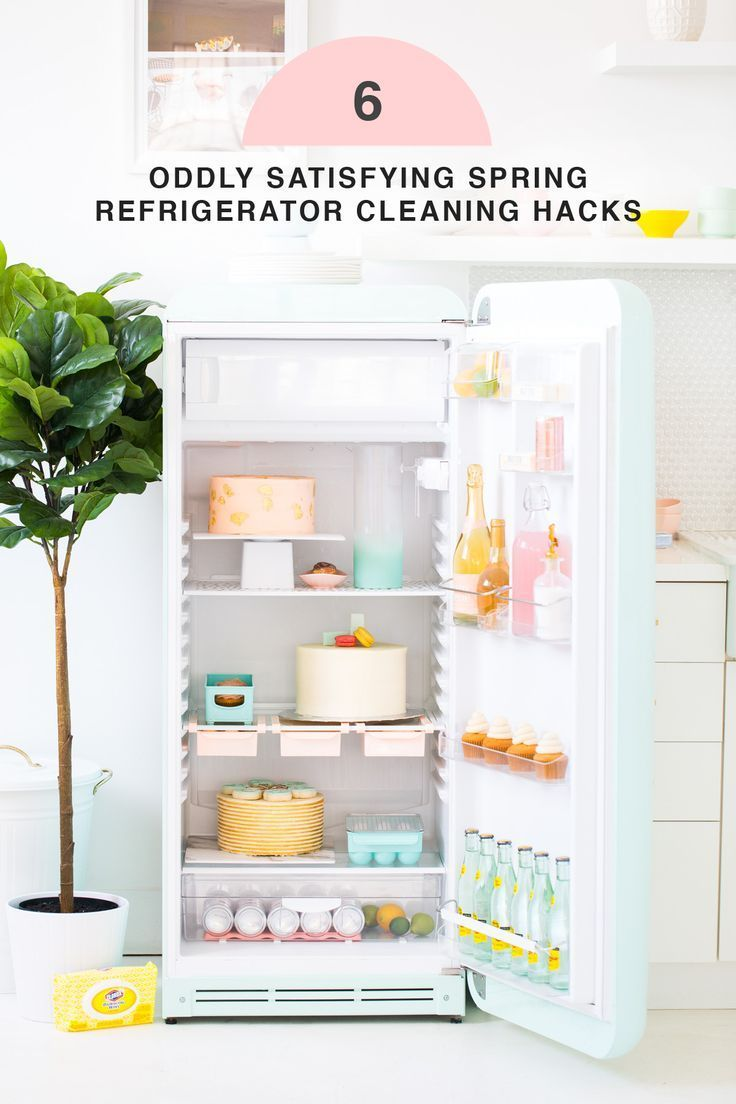 6 Oddly Satisfying Spring Refrigerator Cleaning Hacks by top Houston lifestyle B...
