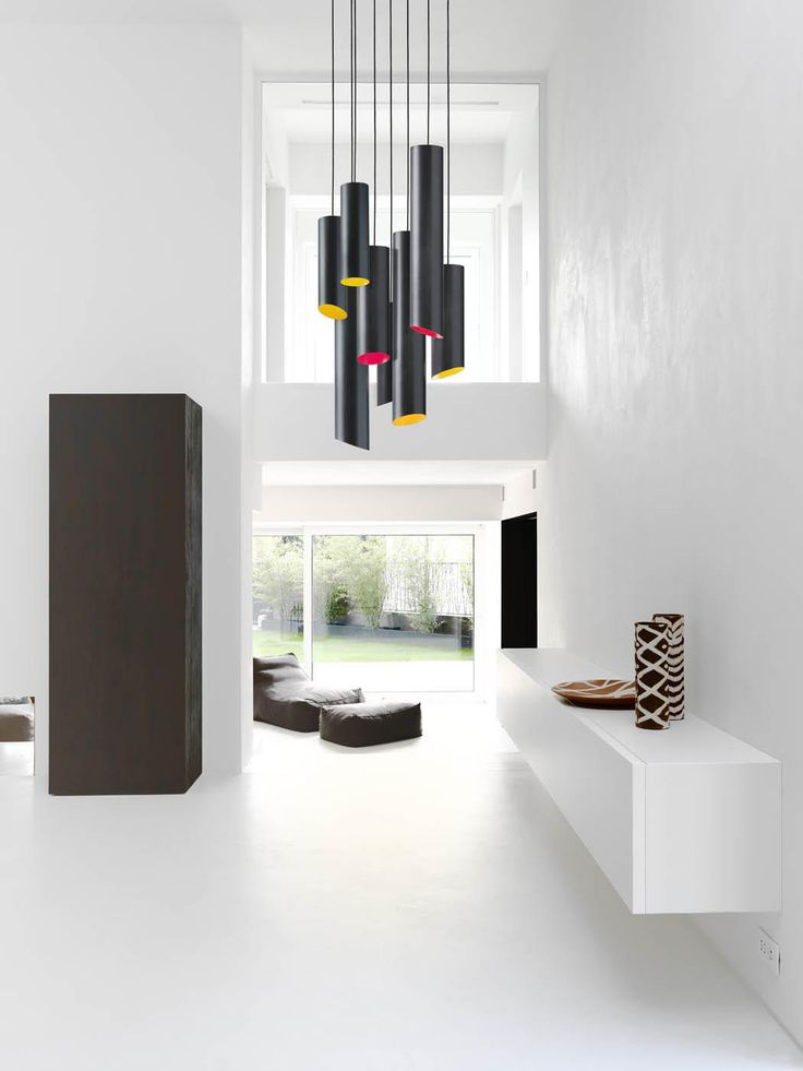 #DailyProductPick The Slice Suspension Lamp by Karboxx uses black carbon fiber f...