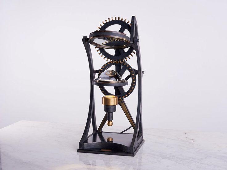 #DailyProductPick Vitruvian Table Lamp by Karice reflects the Renaissance era an...