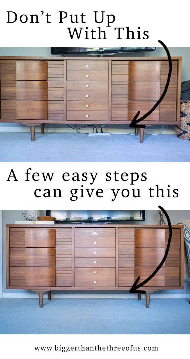 Hide those Cords (hiding tv wires, etc!)