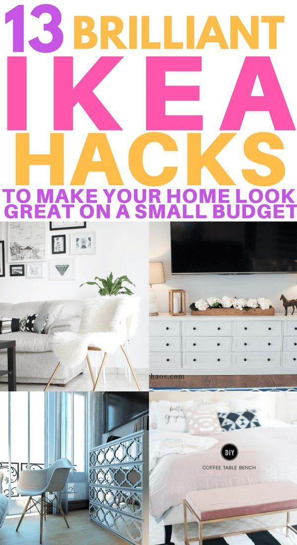 13 DIY IKEA Hacks to Transform Your Furniture On a Tiny Budget