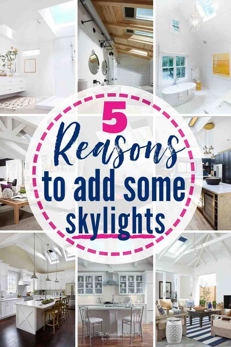 5 great reasons to add skylights to your home!