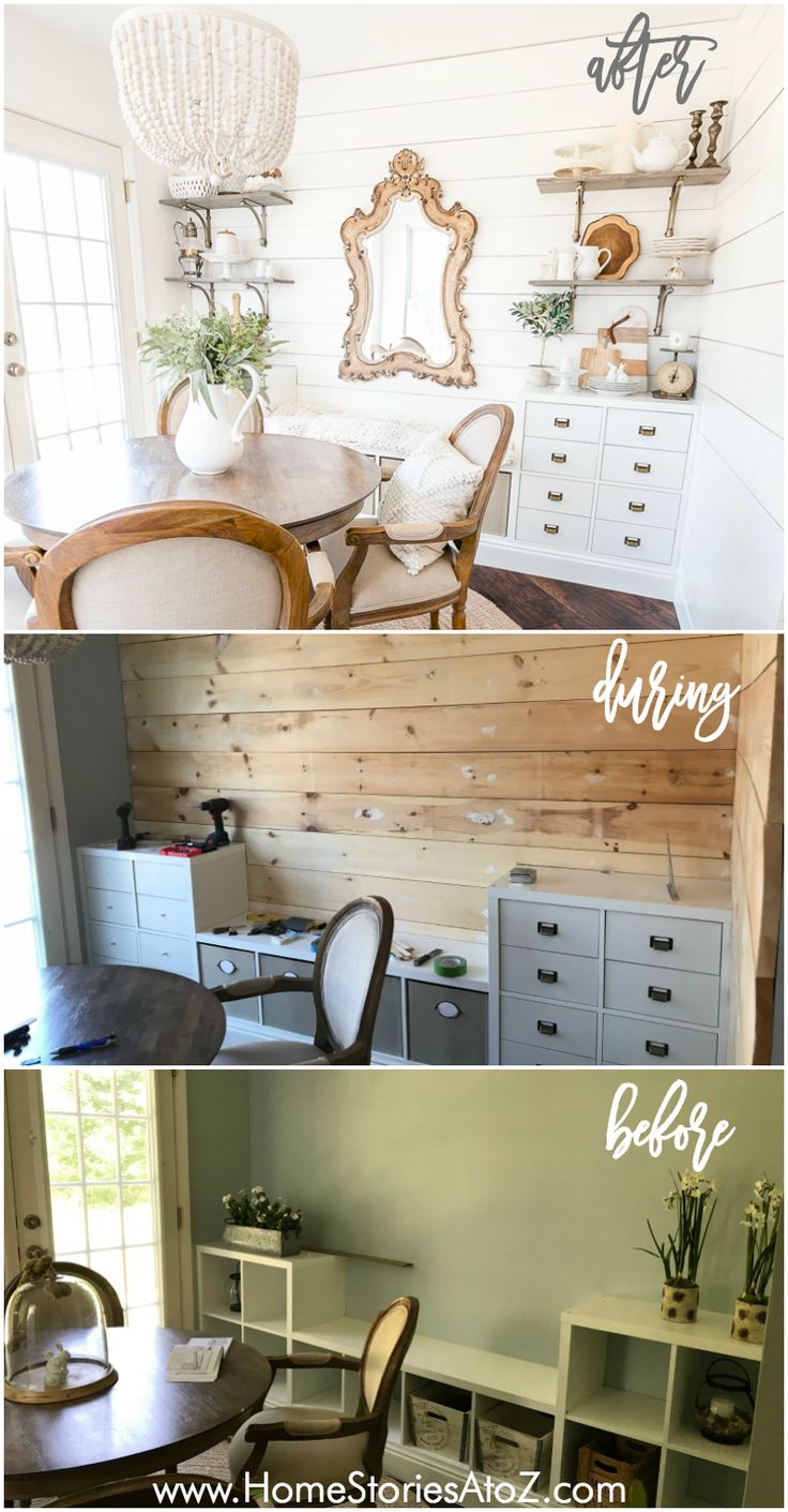 How to Create a Shiplap Wall with Wood Boards