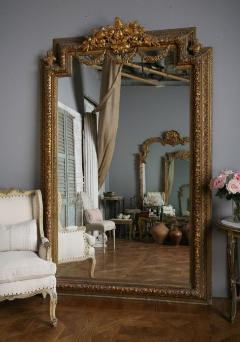 Decorative Leaner Mirrors - Places in the Home