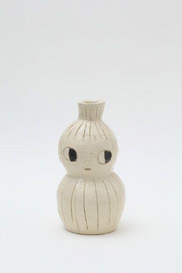 YOSHITOMO NARA, CERAMIC SCULPTURE: at tomio koyama gallery.