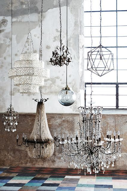 Chic chandeliers - #anthrofave