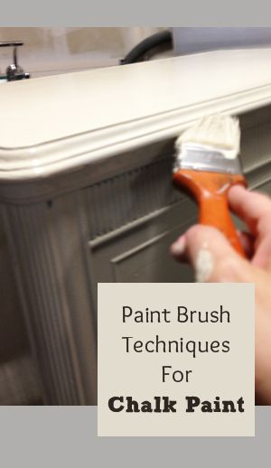 Techniques For Chalk Paint