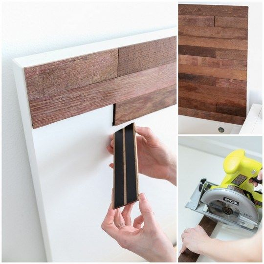 Ikea Bed Hack: DIY Wooden Headboard With Stikwood