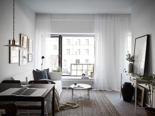 Charcoal and indigo in an elegant Swedish home (my scandinavian home)