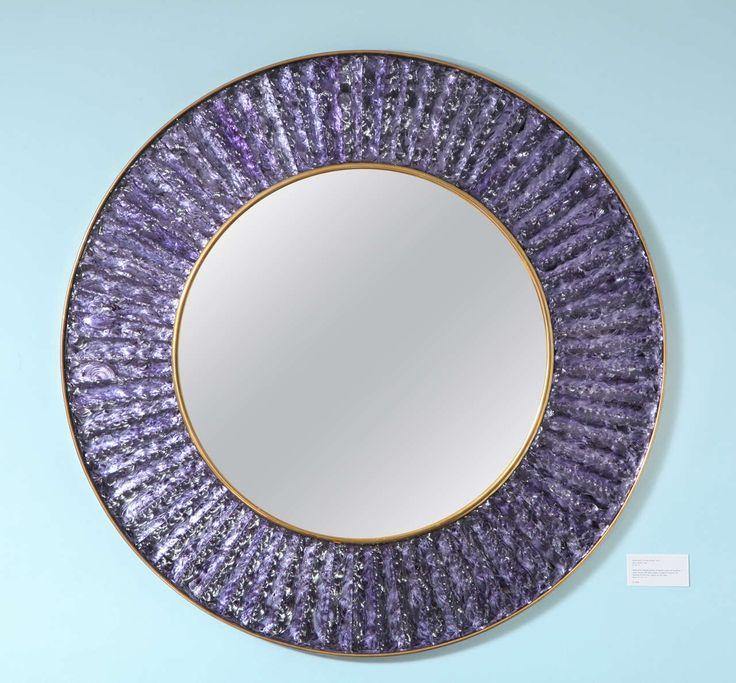 Studio Built Circular Mirror by Ghiro Studio