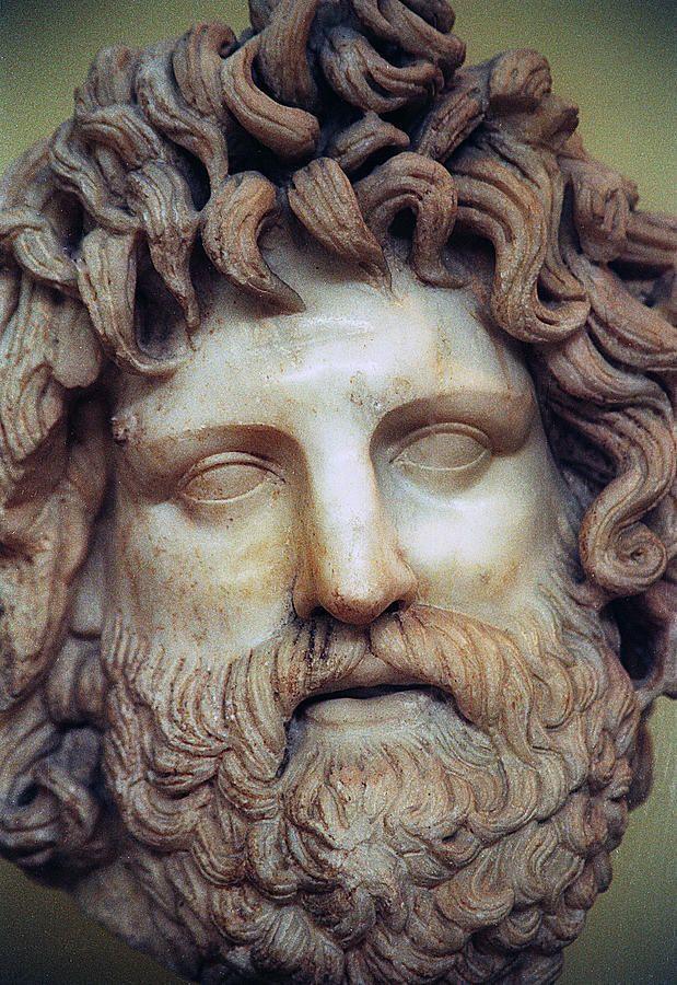 Marble sculpture of Zeus ~ Piraeus museum