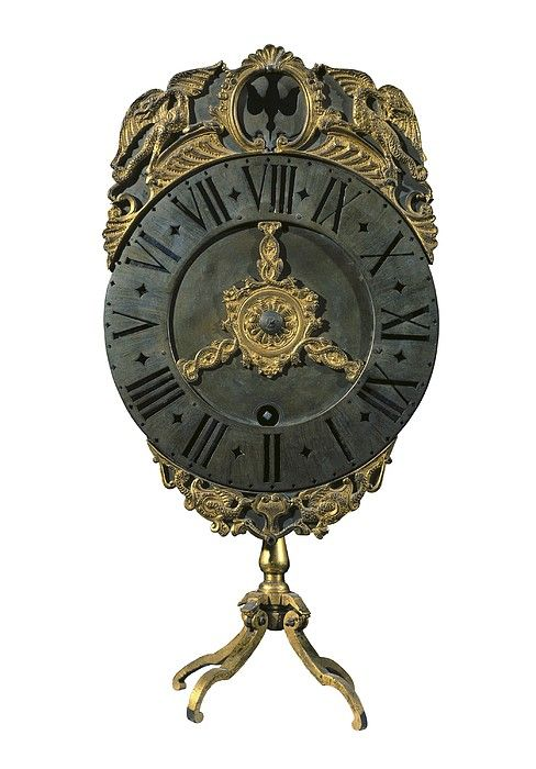 English Lantern Clock 18th C.. Baroque
