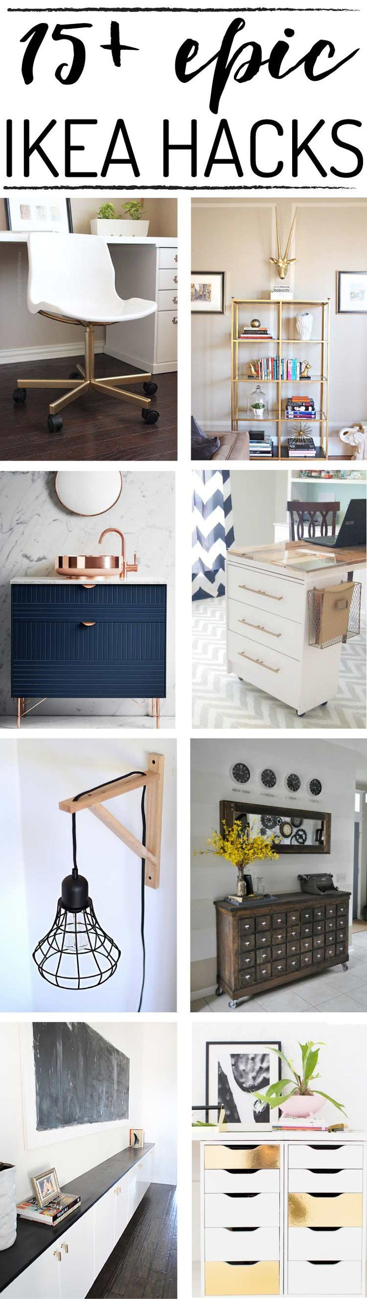 15+ DIY Ikea Hacks That Will Blow Your Mind!