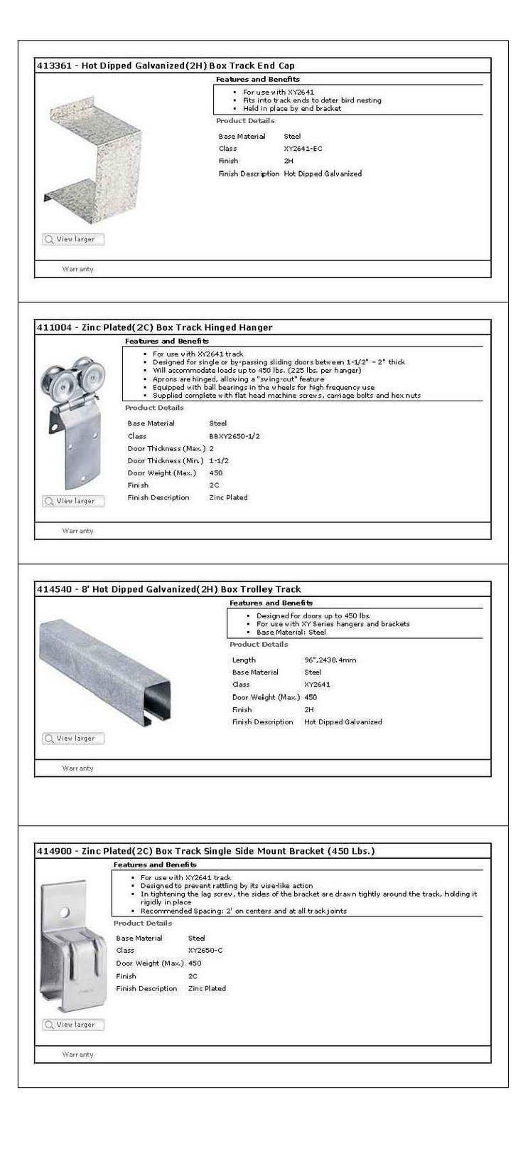 Stanley Door Hardware for Barn Doors