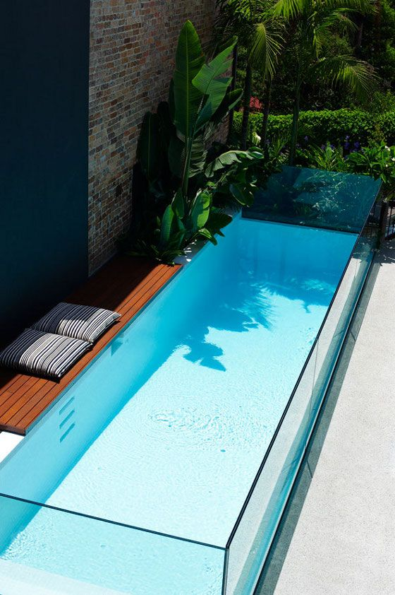 Don't need a large body of water. This plunge pool will do me just fine.