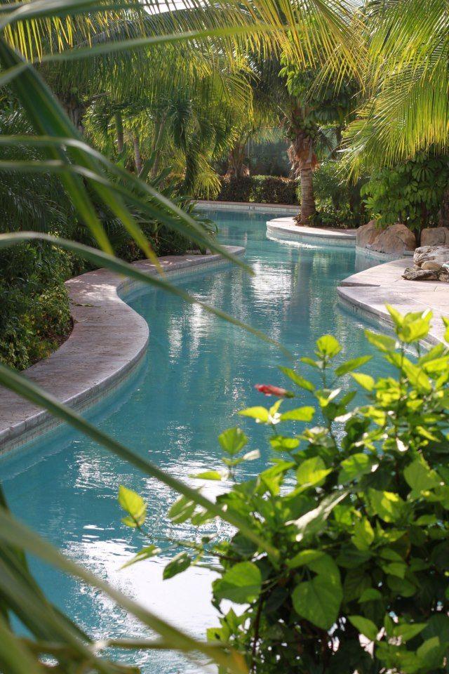 Pool… meandering pool