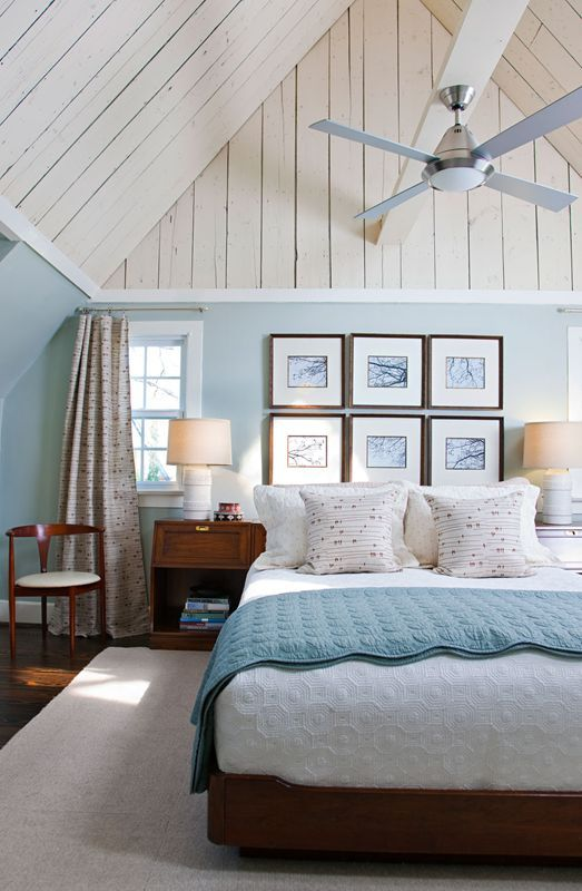 Furniture - Bedrooms : Lovely blue and white beach cottage ...