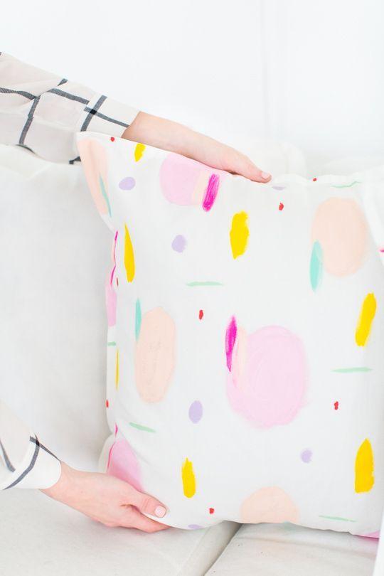 DIY Pattern Throw Pillows