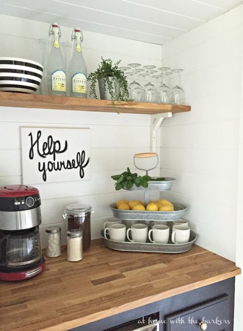 How to build a Beverage Bar