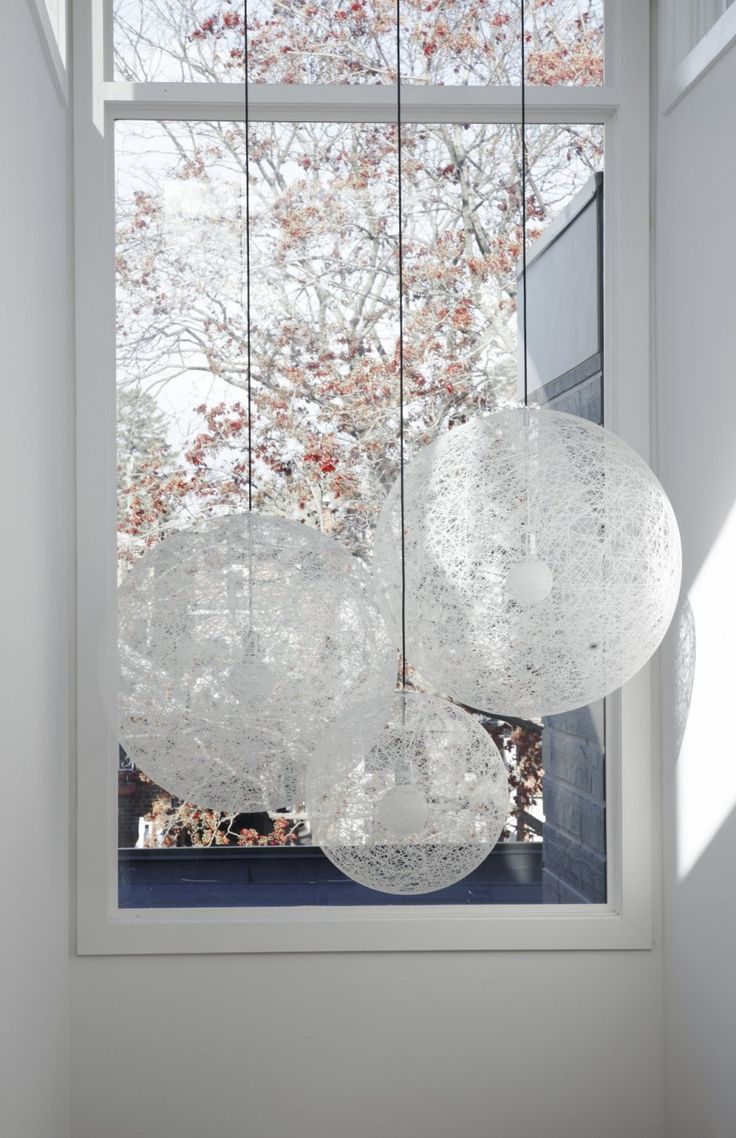 Contemporary Lighting Featured In A Home in Toronto, Canada