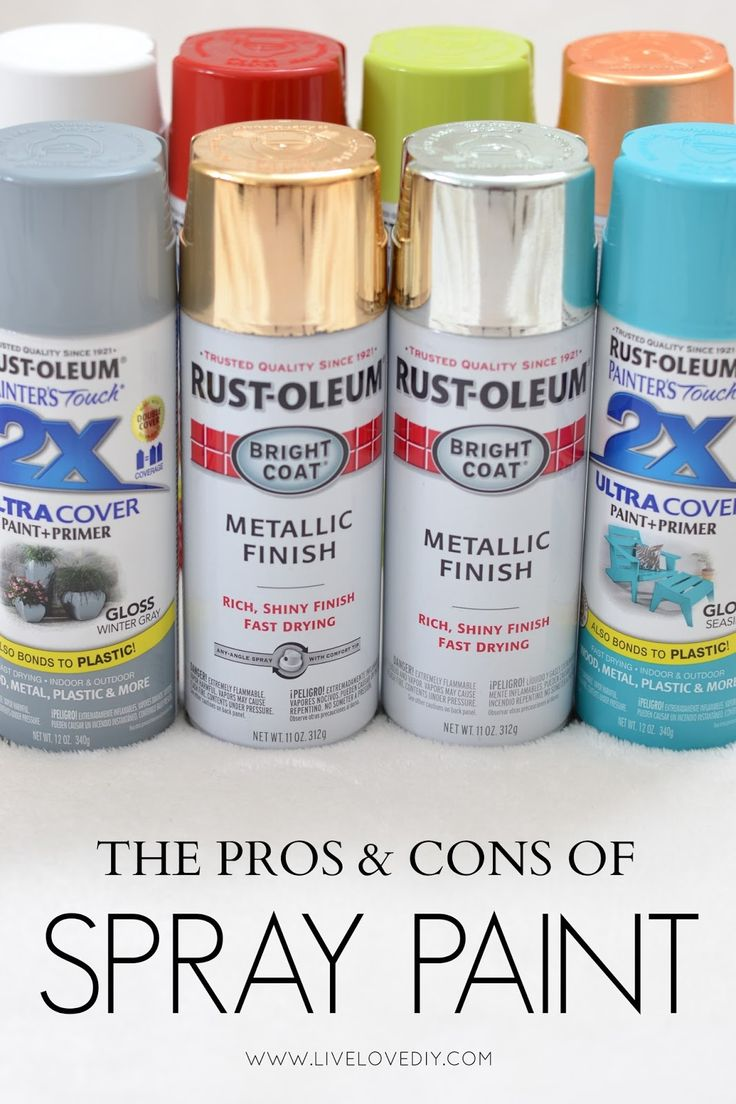 Everything you need to know about spray paint all in one place! This is a MUST-P...