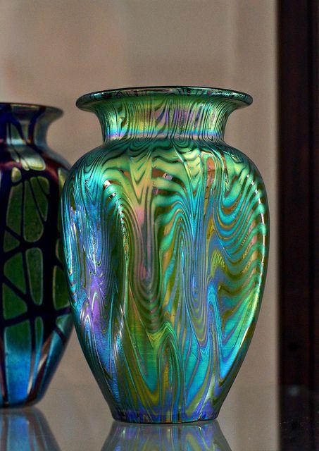 Loetz Art Glass vase circa 1900