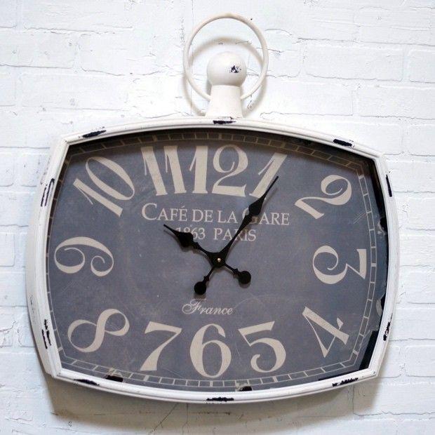 Unique Metal Framed Wall Clock