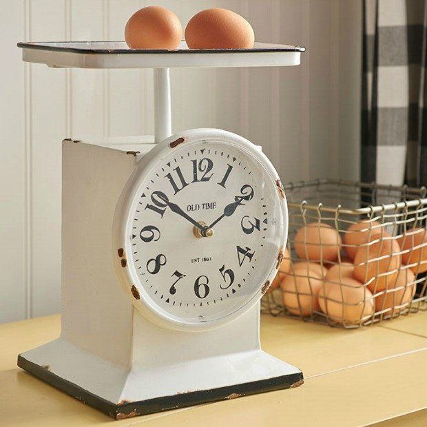 Vintage Inspired Clock Scale