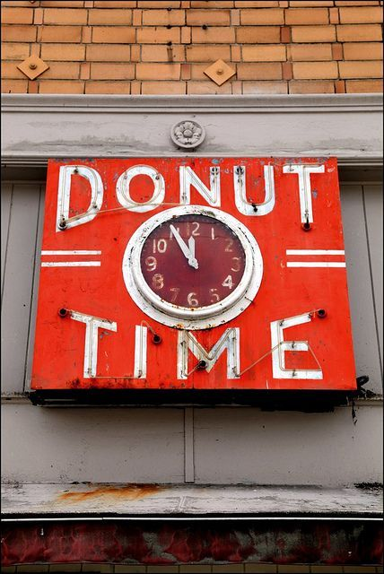 antique signs | Vintage signs / neat clock inside an old sign idea / inspiration...