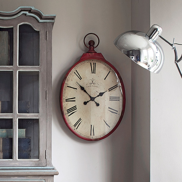 giant pocket watch wall clock! Pretty cool. Definitely a conversation piece.... ...
