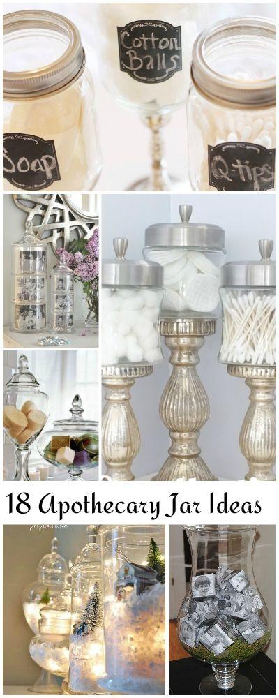 16 Lovely DIY Apothecary Jars & Vase Filler Ideas